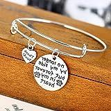 Hemau Silver Plated Pendant Heart Charm Bracelet Women Men Bangle Jewelry Family Love | Model BRCLT - 334 |