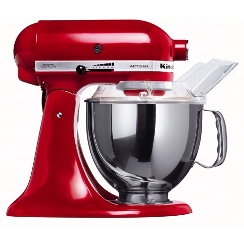 KitchenAid 5KSM150PSER 220-volt Artisan Stand Mixer, 5-Quart, Empire Red by KitchenAid