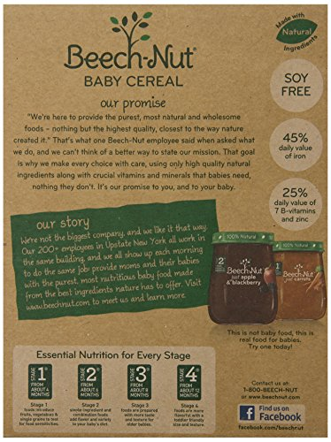 Beech-Nut Cereal, Multigrain, 8 Ounce (Pack of 8)
