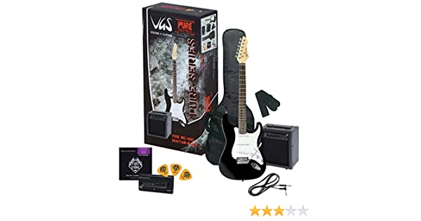 PACK DE GUITARRA ELECTRICA - VGS PURE SERIES RC-100Â BASS PACK ...