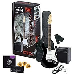 VGS Pure Series RC-100 Guitar Pack Black