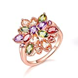Mrsrui Luxury Large Colorful Crystal Wedding Engagement Cocktail Ring Fashion Jewelry Gift (8)
