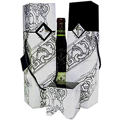 Wine Gift Box Reusable Caddy Easy To Assemble No Glue Required Sauternes Petrus Collection Ez Wine Gift Box By Endless Art Us Sauternes