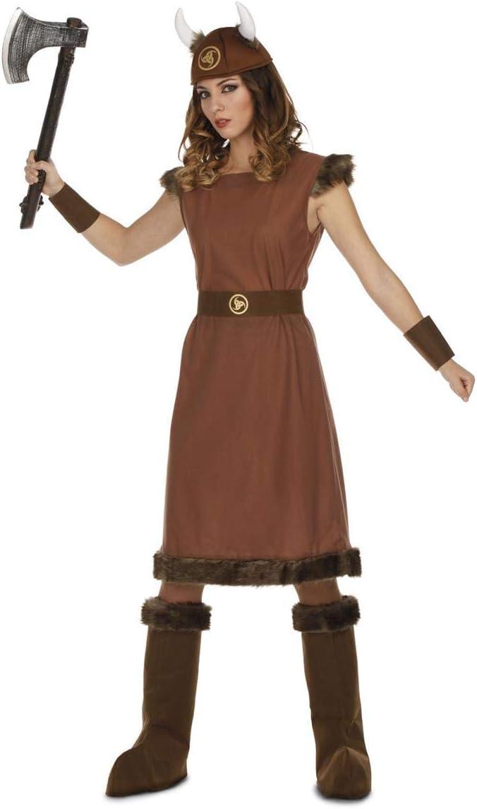 My Other Me Disfraz de Vikinga Odín para Mujer: Amazon.es ...