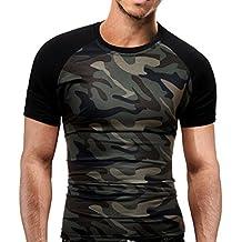 Hot ! Yang-Yi 2018 Summer Men Fashion Slim T-Shirt Military Camouflage O-Neck Short-Sleeved Tees