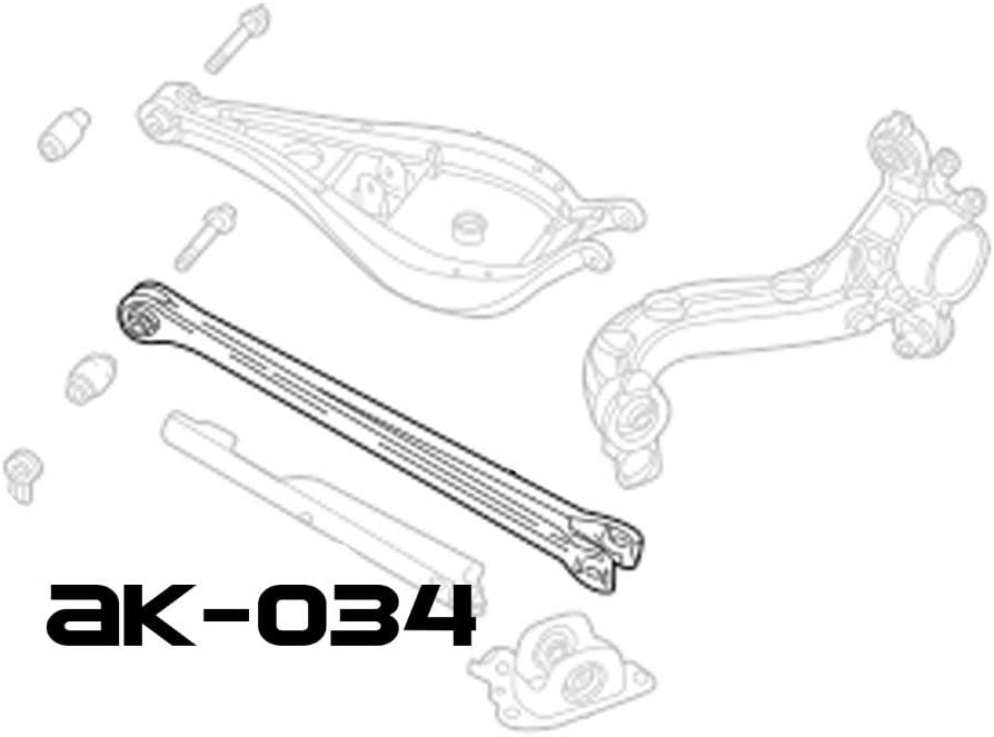 E84 GODSPEED ADJUSTABLE REAR CAMBER ARMS SPHERICAL BEARINGS FOR BMW X3 04-10
