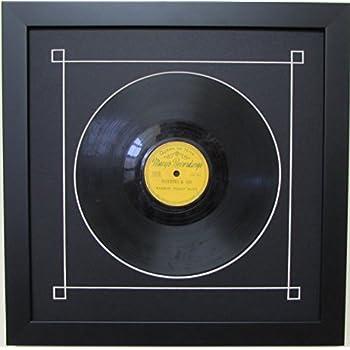 Amazon Com 10 Quot Vinyl Record Frame With Black Mat Design