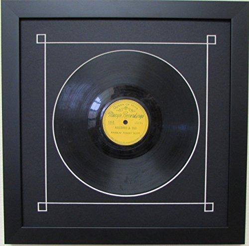amazon com 10 vinyl record frame with black mat design white