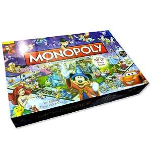 Disney Theme Park Edition III Monopoly Game - 51O85eqXN5L - Disney Theme Park Edition III Monopoly Game