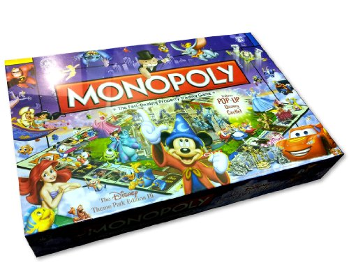 Disney Theme Park Edition III Monopoly Game -