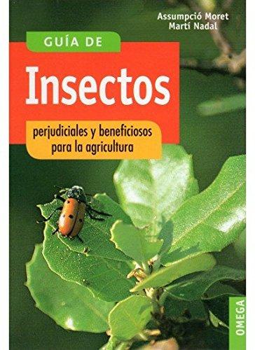 G.INSECTOS PERJUDICIALES Y BENEF.AGRICUL GUIAS DEL NATURALISTA-INSECTOS Y ARACNIDOS: Amazon.es: MORET, A. Y NADAL, N.: Libros