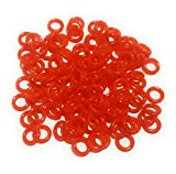 Reaction Tackle Wacky O-Rings-125 Reaction Red