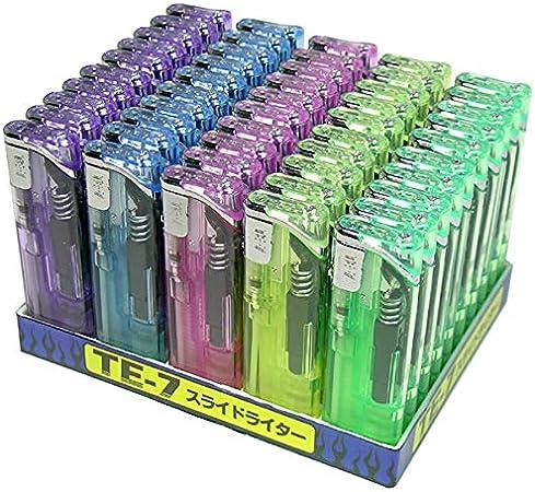 スライド電子ライター 使いやすい 信頼の東京パイプ社製 ガスライター おしゃれ 使い捨てライター