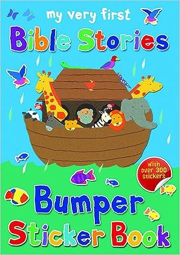 My Very First Bible Stories Bumper Sticker Book
