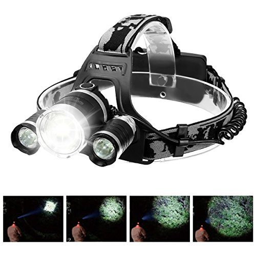 Rechargeable OUTERDO Flashlight Waterproof Headlight product image