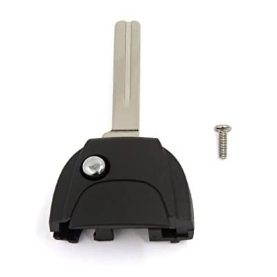 uxcell Remote Case Flip Key Head Part Uncut Blade for VOLVO S60 S80 V70 XC70 XC90: Automotive