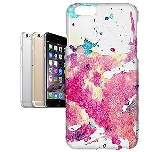 Phone Case For Apple iPhone 6 Plus - Watercolor Art Designer Wrap-Around