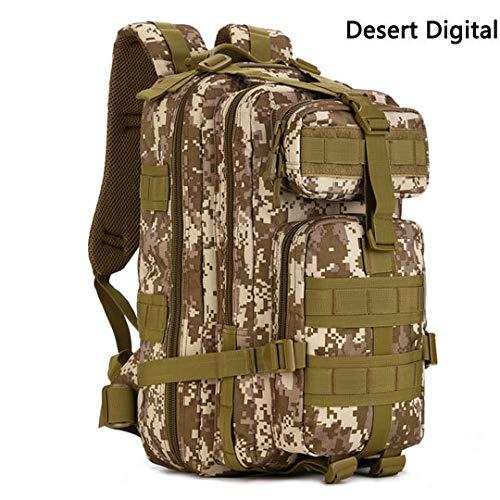 Desert Digital 30 - 40L 30L Multi-Fonction Militaire Sac à Dos Armée Tactique Pack Utilitaire en Plein Air Ordinateur portable Sacs Voyage Camping Randonnée Sac à Dos