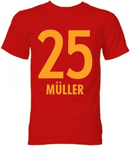 Thomas Muller Bayern Fan T-Shirt Thomas Muller T-Shirt Munich Fan T-Shirt