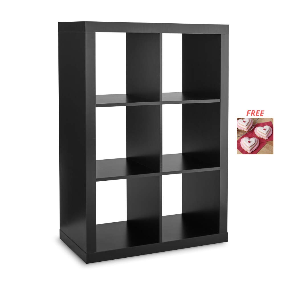 Espresso Better Homes /& Gardens Stylistic Indoor Decor 25 Cube Organizer Room Divider with Scotch Pad Versatile