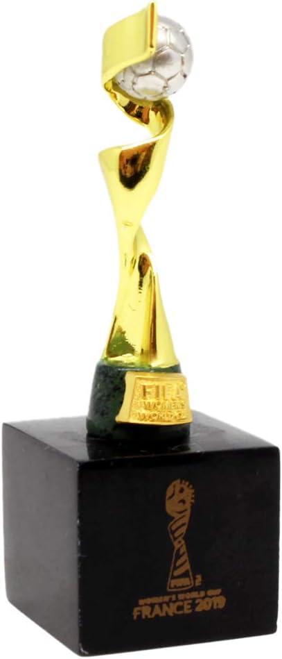 FIFA WWC 2019 Replica-45 mm on Pedestal Trophy Adultes Unisexe R/éplique Taille Unique