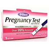 U-Check Pregnancy Test Strip Kit Case Pack 48