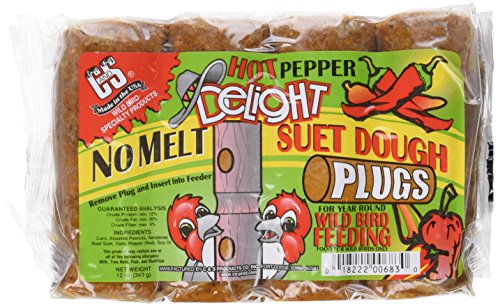C & S Products Hot Pepper Delight No Melt Plug, 12-Piece ()