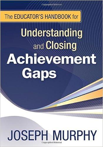 Book The Educator's Handbook for Understanding and Closing Achievement Gaps