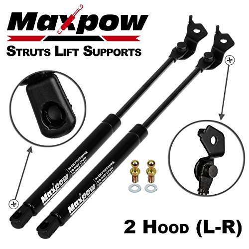 1995 Hood (Partsam 2PCS Gas Charged Hood Lift Supports Struts for 1991-1996 Toyota Camry)