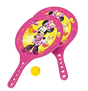 Beach Schläger-Set mit Ball Disney Minnie im Netz