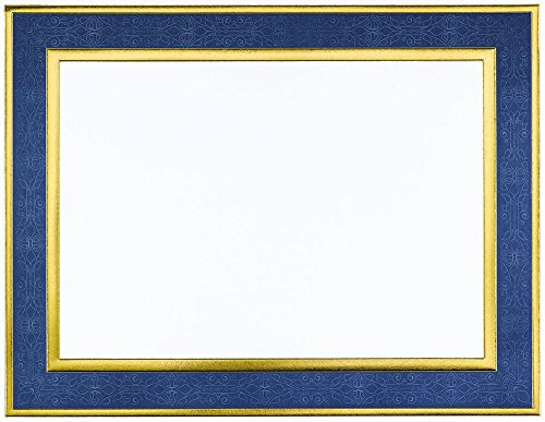 Great Papers! Navy Frame Embossed and Gold Foil Certificate, 8.5