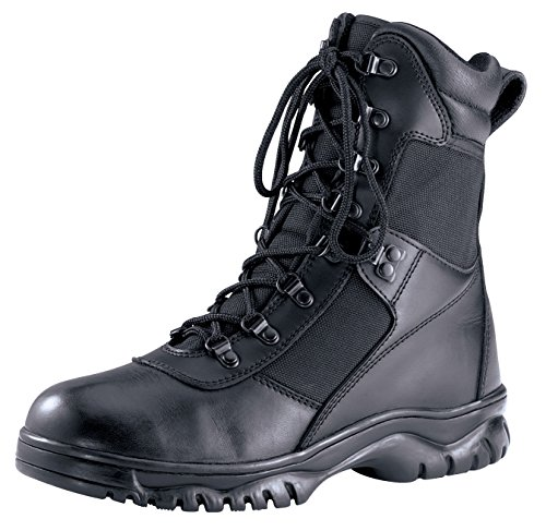 Rothco 8'' Forced Entry Tactical Boot, Black, 12 by Rothco