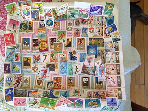 75 sports stamps, Stamp Collection, topical, Olympics