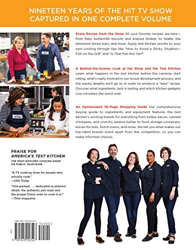 The Complete America's Test Kitchen TV Show Cookbook 2001 – 2019: Every Recipe from the Hit TV Show with Product Ratings and a Look Behind the Scenes