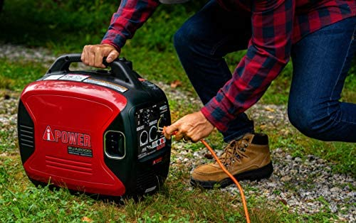 A-iPower SUA2000iV 2000 Watt Portable Inverter Generator Gas Powered, Small with Super Quiet Operation for Home, RV, or Emergency 51O8BC2N9RL