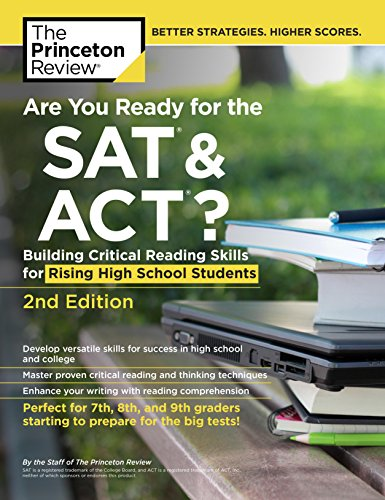 The Princeton Review Are You Ready for the SAT & ACT? (2nd 2016) [Princeton Review]