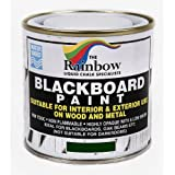 Green Chalkboard Paint - 250ml Ideal to use with Liquid Chalk and Dry Chalk Sticks by Rainbow Chalk Markers