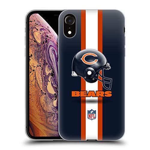 Official NFL Helmet Chicago Bears Logo Soft Gel Case for iPhone ()