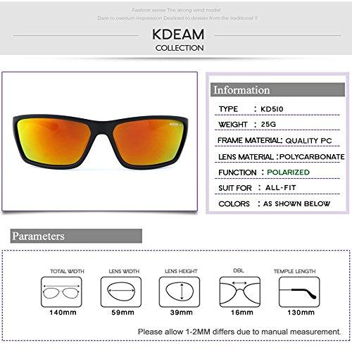 Polarized Hombre HD con Hombres De Gafas Deportivas de Mujeres Sol C5 C5 Gafas Y Gafas De Sol Color para Sol para LBY IUqzwS8P