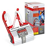 Tools & Hardware : Kidde 468093  KL-2S Two-Story Fire Escape Ladder with Anti-Slip Rungs, 13-Foot