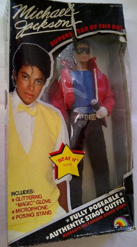 "Michael Jackson ""Superstar of The 80's"" Beat it Doll"