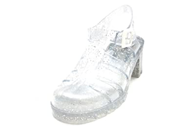 5874e51e035949 W1615Clr Juju Jellies Babe Womens 80S Glitter Summer Jelly Shoes ...