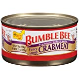 Bumble Bee Fancy Lump Crabmeat, 6oz, pack of 1