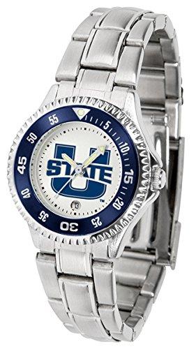Linkswalker Utah State University Aggies Competitor Ladies Steel Watch