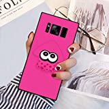 Phone Case Compatible Samsung Galaxy S8 (2017) [5.8 Version] Squid Splatoon Pink