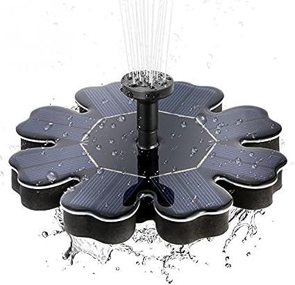 1.4W Pompa Acqua A energia solare Decorazioni Fontana Stagno Giardino Casa