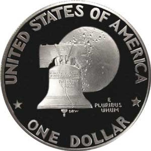 1976 S Type 1 Gem Proof Bicentennial Eisenhower Dollar US Coin Ike