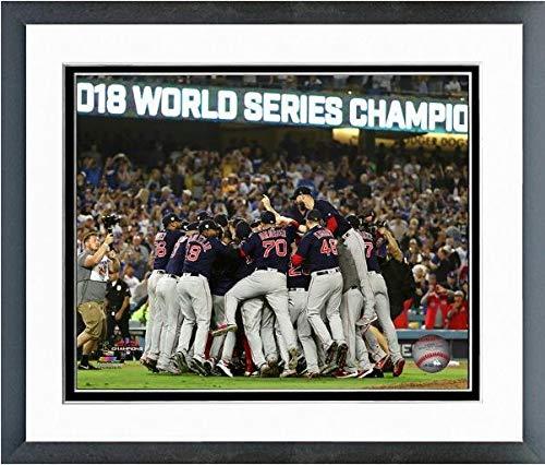 Boston Red Sox 2018 MLB World Series Team Celebration Photo (Size: 12.5