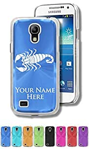 Personalized Case/Cover for Samsung Galaxy S4 Mini - SCORPION - Engraved for FREE by lolosakes by lolosakes