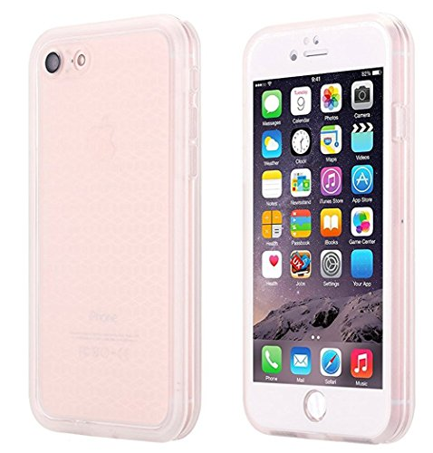 iPhone SE Waterproof Case,Super Slim Thin Light [360 All Round Protective] Full-Sealed IPX-6 Waterproof Shockproof Dust/Snow Proof Case Cover for iPhone SE/5s/ 5(Transparent)